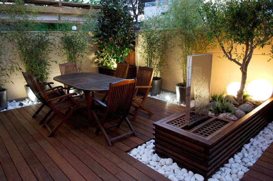 Reformar el patio