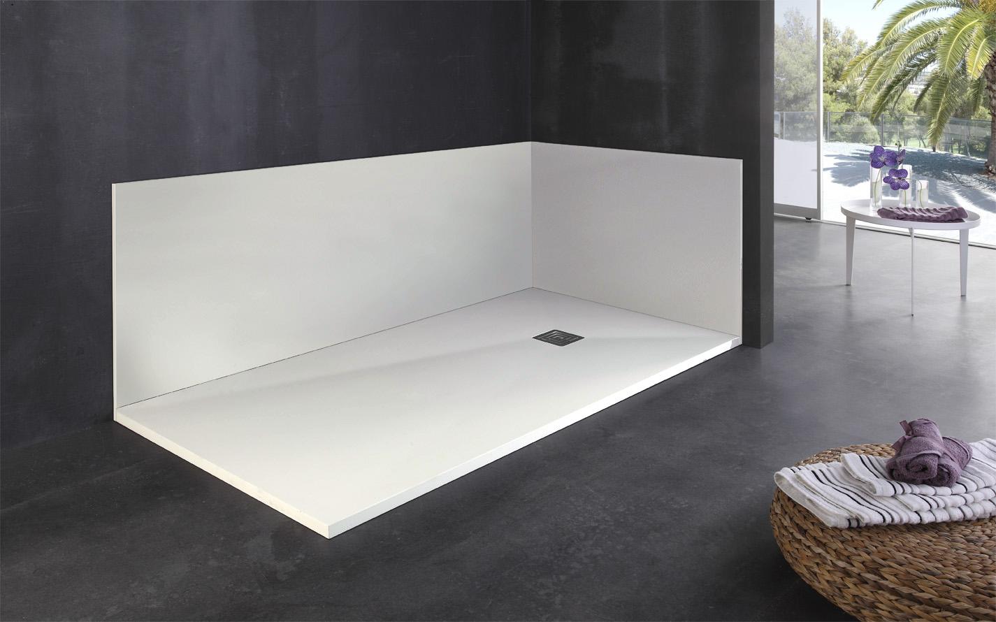 Cambiar la ba era por un plato de ducha dise arte 3d for Tipos de mamparas para platos de ducha